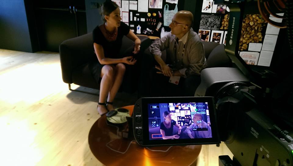 Video intervista a Eva Baldessin, padiglione Francia
