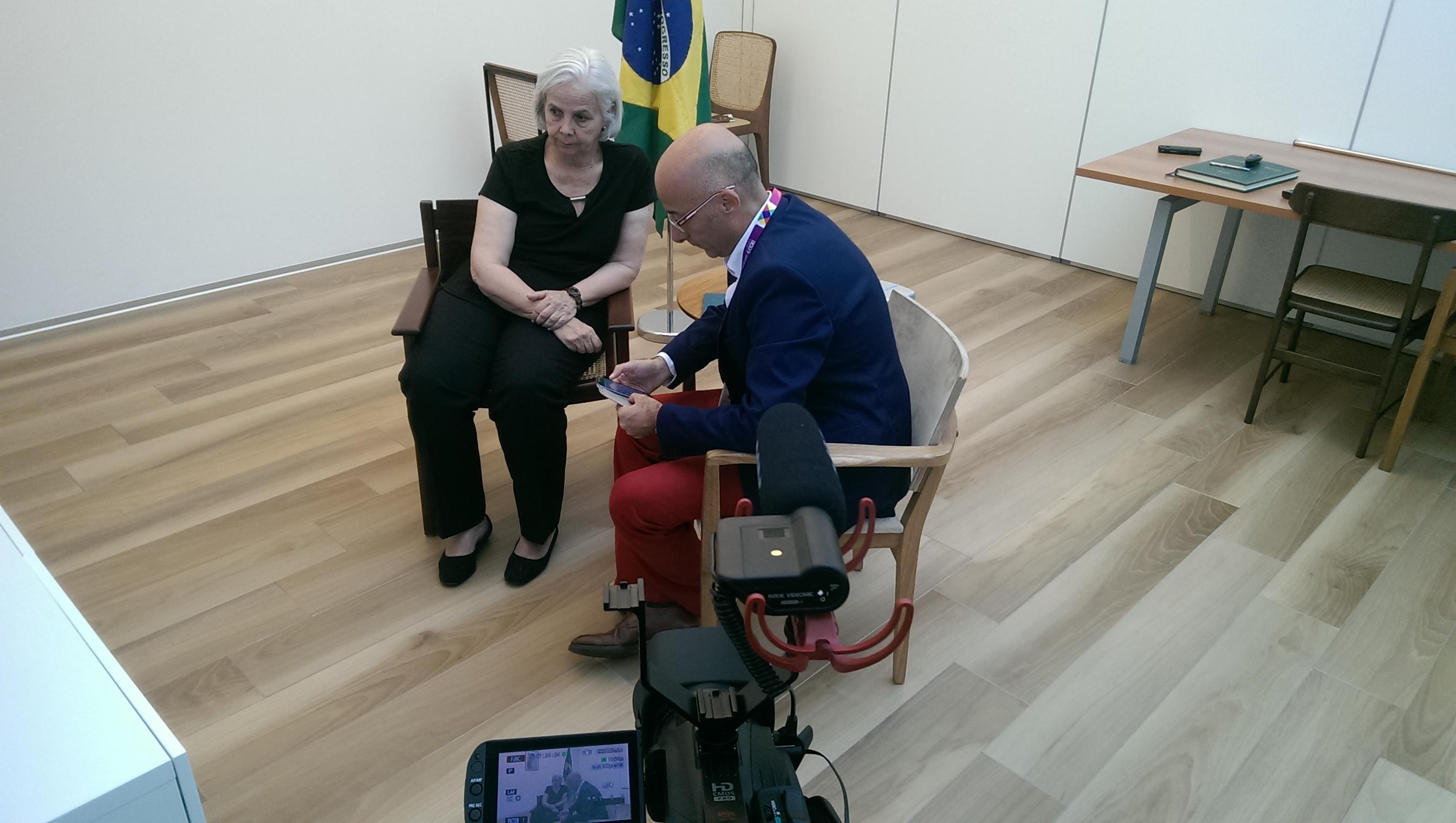 Intervista a Christine Garcia-Concheso, direttrice del padiglione del Brasile