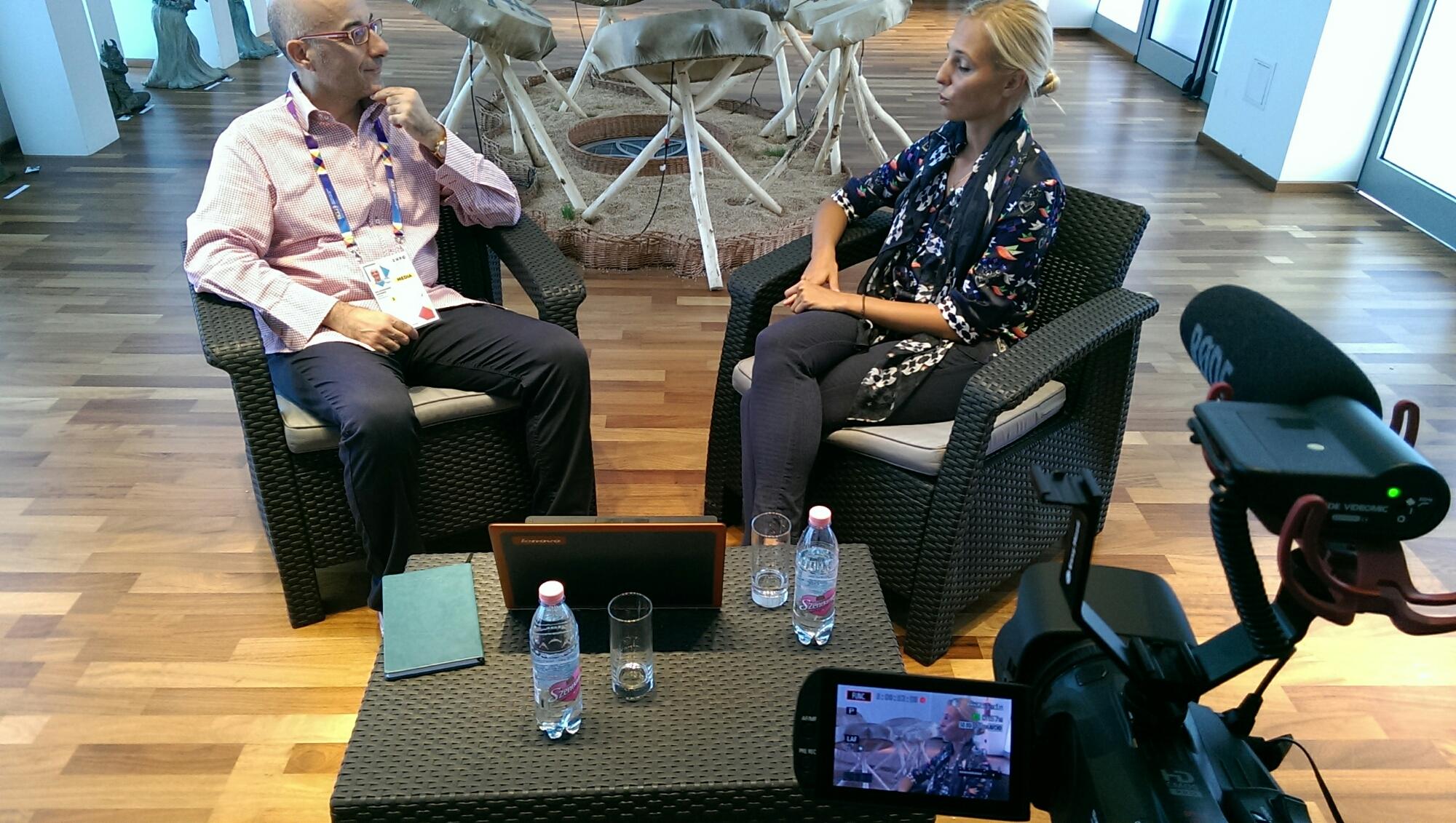 Intervista al padiglione Ungheria